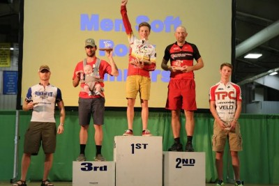 Caleb Swartz Ore to Shore Podium